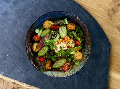 Salat Falafel