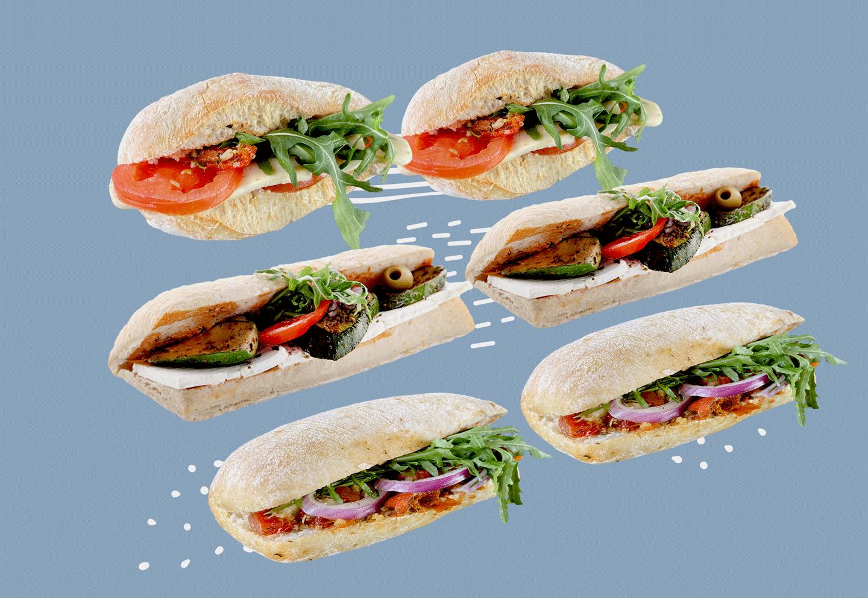 Ciabatta Paket Vegetarisch