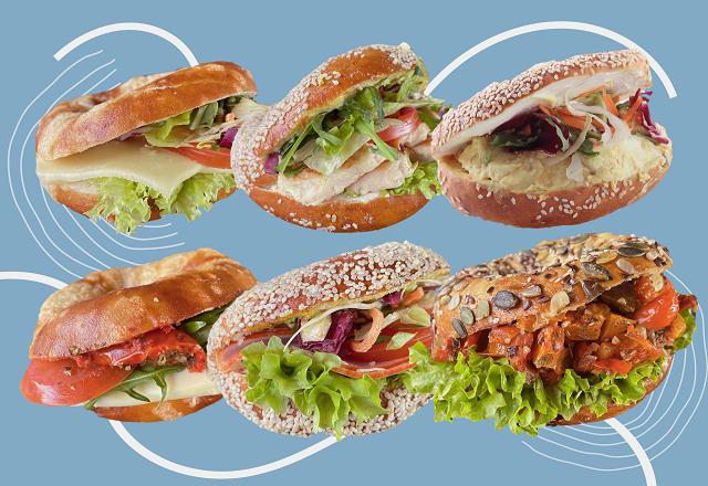 Bagel Paket Vegetarisch